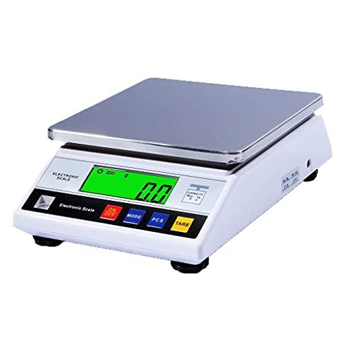 WZ Balanza Laboratorio Balanza AnalíticaAlta Precisión Báscula Digital De Alta Precisión Lab Joyería Precisión 0,1 G Escala Gramo Pantalla LCD (Size : 5kg/0.1g)