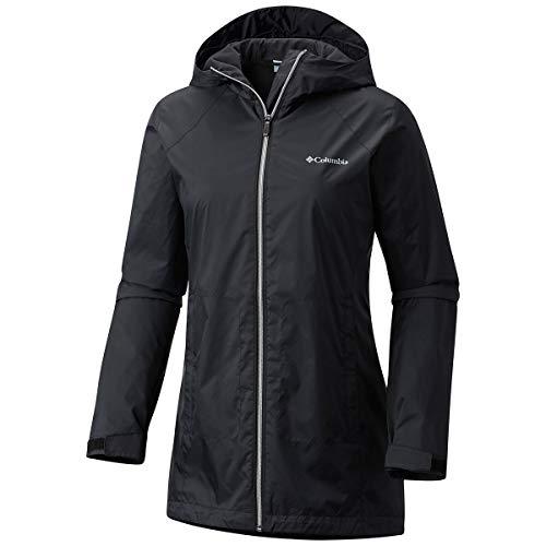 Columbia Women's Switchback Lined Long Jacket, Black, Medium