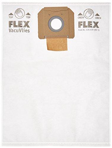 Flex FS-F VC/E 35 vliesfilterzakken   5-pack   met Vacuvlies-technologie   geschikt voor stofzuigers