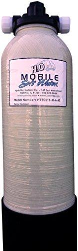 Portable 'Mobile-Soft-Water' Water Softener 6,400 Grain Capacity Manual Regeneration