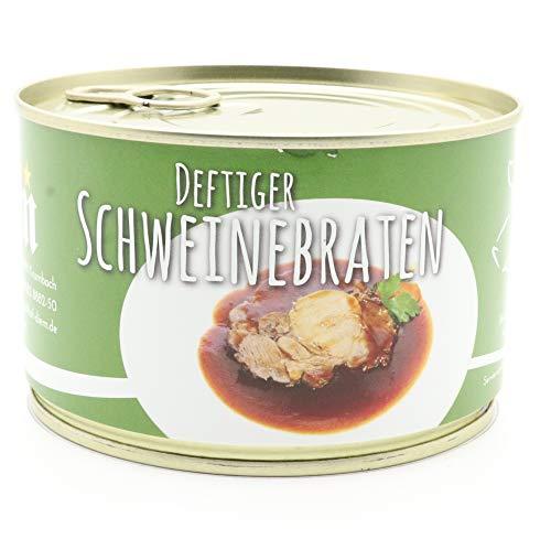 Diem Braten-Paket (Rinderbraten, Gulasch gemischt, Sauerbraten, Schweinebraten, Schweine Geschnetzeltes) 5 x 400g Konserve - BRATEN PAKET 2 - 3
