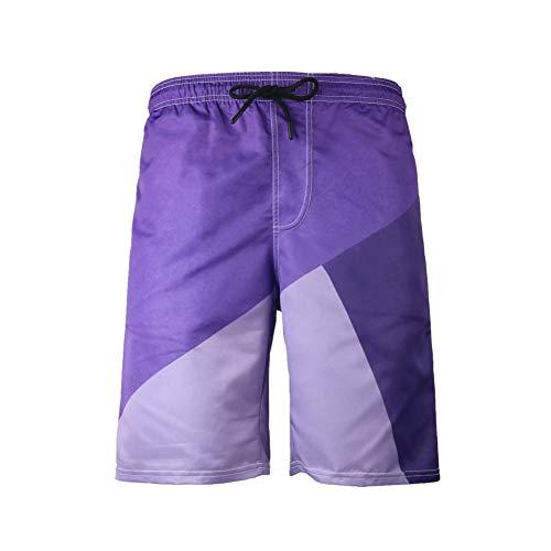 Chickwin 3D bedrukte strandbroek, rechte graffiti, casual, zwemshort voor heren, grappige shorts in de zomer, casual, maat in vele kleuren