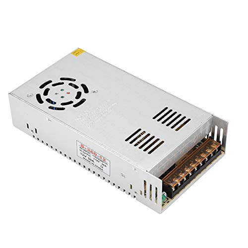 ASHATA 12V 30A 360W AC-DC universele schakelvoeding voor 3D-printers, CNC, AC/DC voeding voor 3D-printers, bewakingscamera, LED-lichtbalk, display enz.