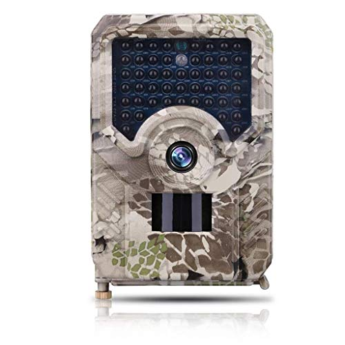 GLJJQMY wasserdichte Wildlife Tracking Kamera HD 1080P Langer Standby 12MP Wildlife Jagd Kamera Monitor Nachtsicht Bewegungsmelder IP56 Game Trap Kamera