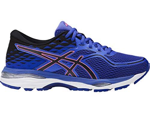 ASICS Womens Gel-Cumulus 19 Running Shoe, Blue Purple/Black/Flash Coral, 7.5 Medium US