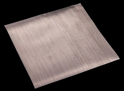 Unpolished ASTM E2016-06 Mill 67/% Open Area 12 Width 12 Length 0.009 Wire Diameter Small Parts 0.009 Wire Diameter 12 Length 304 Stainless Steel Woven Mesh Sheet Finish 12 Width