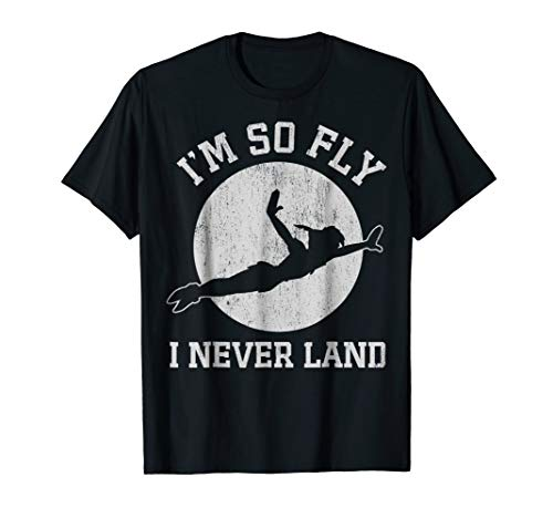 Disney Peter Pan So Fly Moon Silhouette Graphic T-Shirt T-Shirt