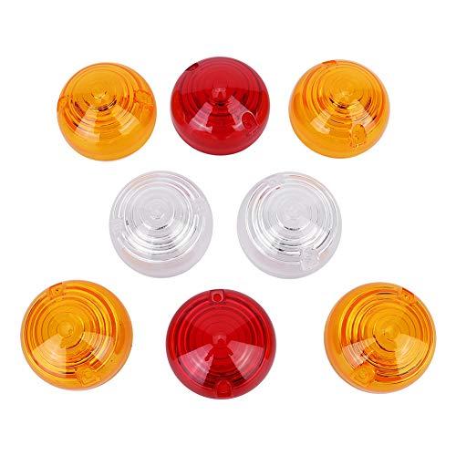 Abdeckung der Anzeigelampenlinse 8-teiliges Seitenleuchten-Anzeigelampenlampenset Passend für Land Rover 589285