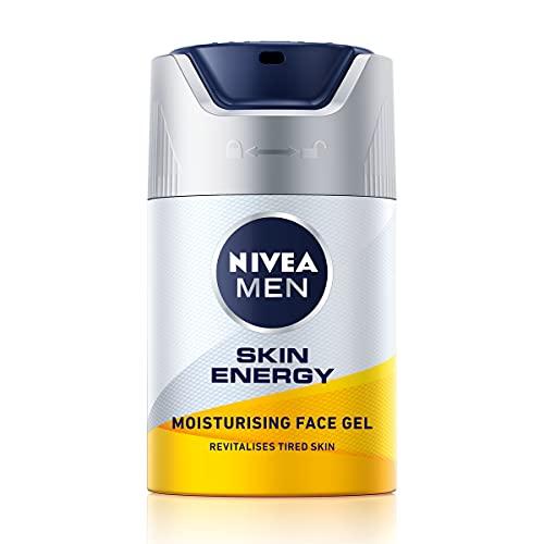 Nivea For Men 88882 Active Energy Gesichtspflege Gel, Vitamin + Komplex, 50 ml
