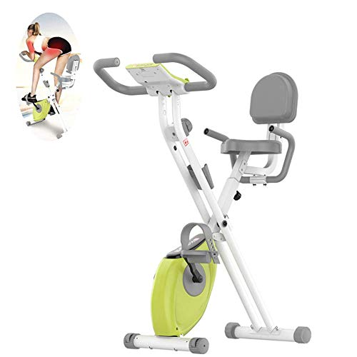 DSHUJC Bicicletas estáticas Plegables, Bicicleta Profesional de Spinning para el hogar, Control...