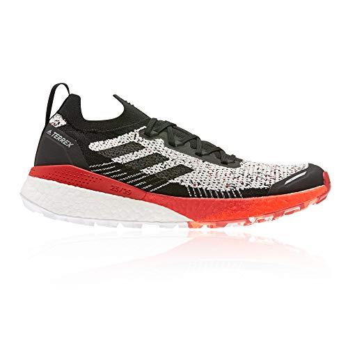 adidas Terrex Two Ultra Parley, Zapatillas de Running para Hombre, Balcri/NEGBÁS/Escarl