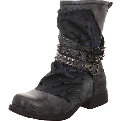 Laufsteg Stiefel Damen Größe 40 EU Schwarz (schwarz)