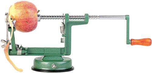 Rosenstein & Söhne Apfelschälmaschine: Profi-Apfelschäler und -Schneider (Spiralschneider)