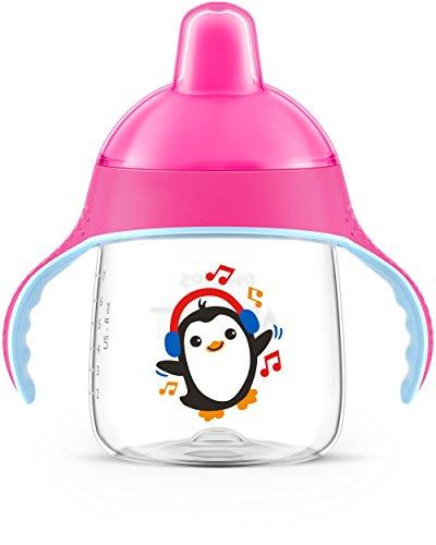Copo Pinguim 260 ml, Philips Avent, Rosa