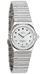 Omega Women's 1475.71.00 Constellation My Choice Diamond Accented Watch Sale and For Sale and review image