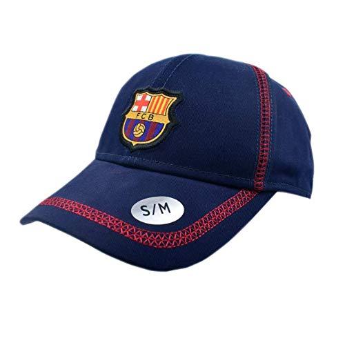 Gorra Basic Azul Junior FC. Barcelona - Producto Licenciado