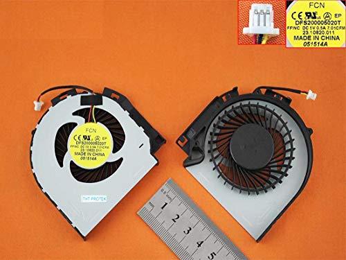 Kompatibel für Dell Inspiron 17-7737, 7737 Lüfter Kühler Fan Cooler