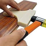 XHXseller - Juego de tablones de Madera laminada para colocación en el Suelo, de Nailon/Haya, robustos y Resistentes a los Golpes, duraderos, 150 mm