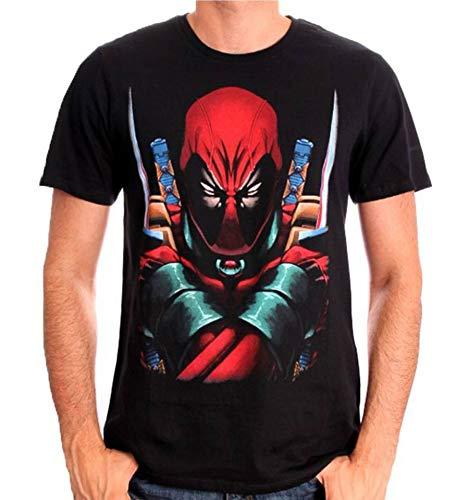 Tshirt Deadpool Marvel - Deadpool Saber