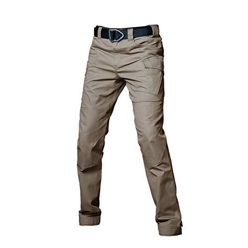 Pantalones Militares de Combate táctico para Hombres, Pantalones Casuales de Carga de Trabajo al Aire Libre(160CM-185CM)