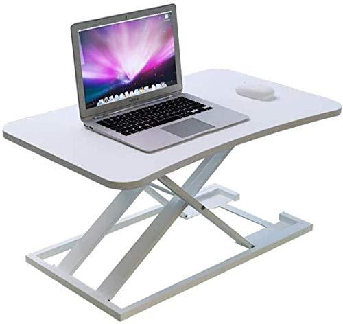 MWXFYWW Escritorio de pie con Estaciones de Trabajo de computadora Plegables y Ajustables en Altura Escritorio de pie Converte Ergonomic Desktop Workstation Riser(Color:2,Size:(29x19inch))