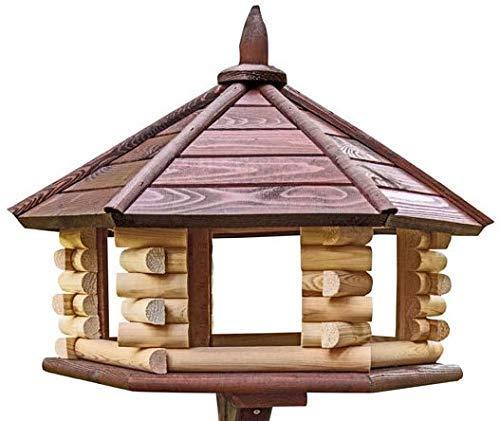 Exklusiver großer Holz Vogel Tisch House, Feeder, & House