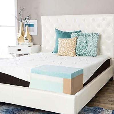 Simmons Beautyrest Comforpedic from Beautyrest Choose Your Comfort 10-inch Gel Memory Foam Mattress Firm King