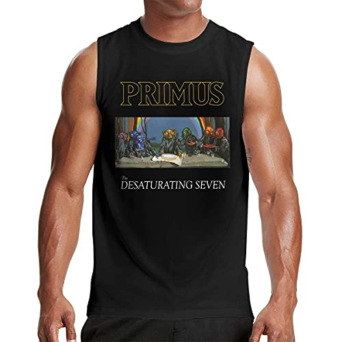 Lsjuee Herren Muscle Tank Weste Ärmelloses Shirt Outdoor Bodybuilding Tops