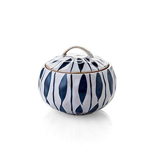 LIUSHI Utensilios de Cocina de cerámica Olla de Sopa Olla de Cocina Estofado de Alta Temperatura Mini Cazuela de cerámica Huevo Leche Sartén Ollas de Vapor de Cocina (Color: C)