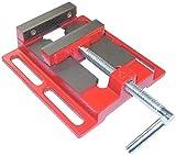 AERZETIX - Tornillo de banco/fresadora hierro fundido - para taladro de banco 1.93kg - mordaza 100mm - apertura 100mm - tornillo de banco de precisión, tablero/soldadura/fresado/rectificado - C46325