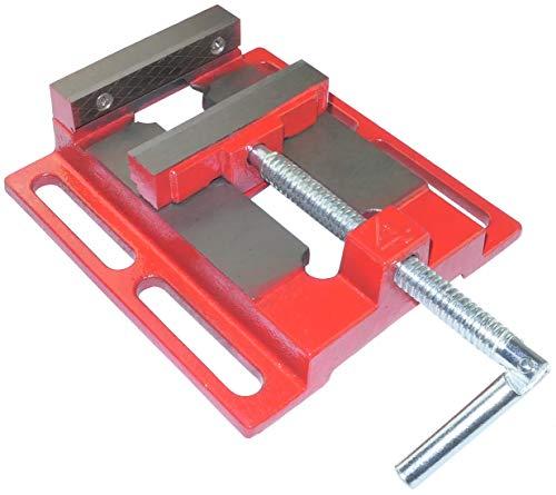 AERZETIX - Tornillo de banco fresadora hierro fundido - para taladro de banco 1.93kg - mordaza 100mm - apertura 100mm - tornillo de banco de precisión, tablero soldadura fresado rectificado - C46325