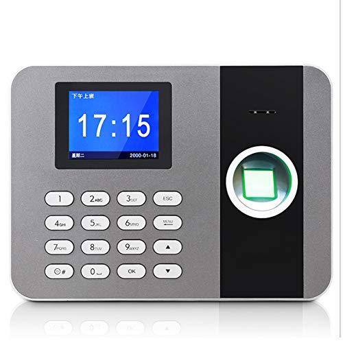 YYZLG Vingerafdruk Attendance Machine, Live Voice Vingerafdruk Erkenning Medewerker Werken Attendance Machine Klok