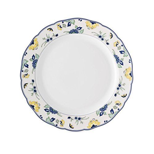 Hutschenreuther Maria Theresia Papillon Dinner Plate, with Rim, Porcelain, Dishwasher Safe, Ø 27 cm, 10027 by Hutschenreuther