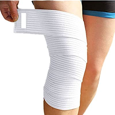 Wrist and Knee Compression Bands.