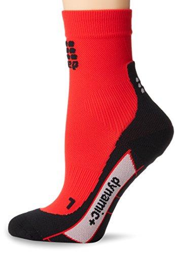 CEP CEP Damen Shorts, dynamische Shorts, damen, WP4B0, rot / schwarz, 18-20cm