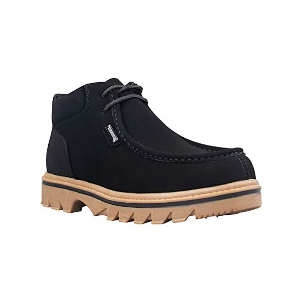 Lugz Men's Fringe Classic Moc Toe Chukka Fashion Boot