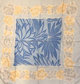 Passigatti Modisches Tuch 85x85 cm 100% Polyester, Teich