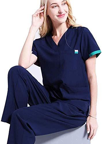 Miaoao-HL Schoonheid Tuniek/Gezondheid Schoonheid & Spa/Werkkleding/Vrouwen Scrub/Verpleging Uniforms