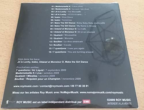 ROY Music - mademoiselle K + 15 - CD - PROMOTIONAL ITEM