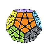 RENFEIYUAN Rubix, Dodecahedron Fidget Smooth Sticker Ma 3D Brain Teasers Educational Toy for Kids Adults Rubik piramix
