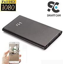 SmartCam 1080P 5000mAh H2 Portable Hidden Power Bank Camera Nanny Cam, Perfect Mini Spy Camera for Home Office and Outdoor