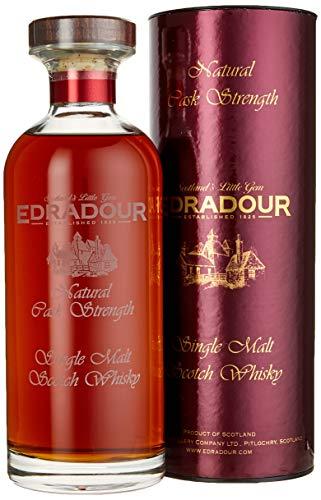 Edradour Natural Cask Strength Single Malt Scotch Whisky 2005 (1 x 0.7 L)