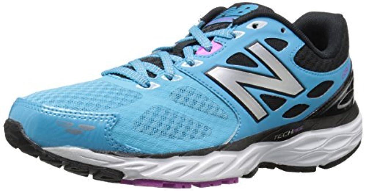 組み合わせる訴える後方にNew Balance Women's W680V3 Running Shoe Bayside/Navy 5.5 B US [並行輸入品]