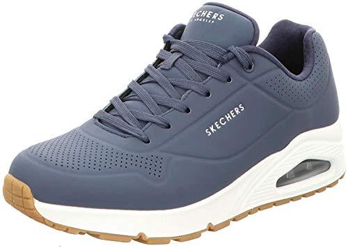 Skechers Herren UNO Stand ON AIR Sneaker, Navy, 45 EU