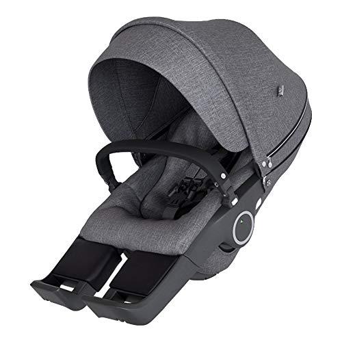 STOKKE® Xplory® 6 Kinderwagen-Sitz - Sitzschalen-Aufsatz für Fahrgestell Xplory - Farbe: Black Melange