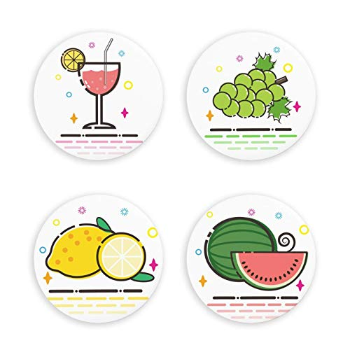 Todo List imanes magnéticos para Nevera con diseño de Fruta de Dibujos Animados, Decoraciones para el hogar, Regalo, imanes duraderos para Nevera