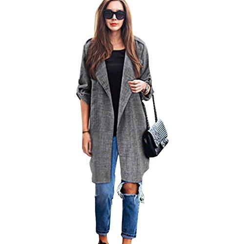 FRAUIT gebreide wollen jas dames open front linnen trenchcoat lange mantel vrouwen meisjes jassen jas jas waterval mode elegant wondermooi streetwear M-5XL