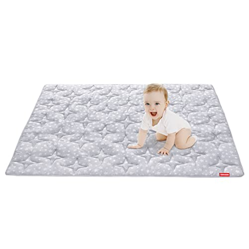 Baby Play Mat Extra Thick, Large, Crawling Mat Non Slip Cushioned Baby Mats for Playing 78.5x55 Inches, Baby Playmat Floor Mat for Infants, Babies, Toddlers