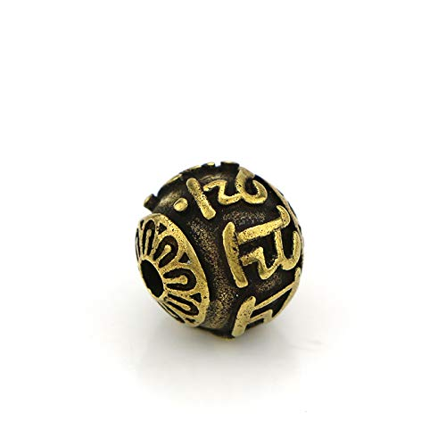 GIAO Sculptures Home Decor Antique Bronze Retro Retro pure copper tee beads accessories, brass bodhi bracelet accessories