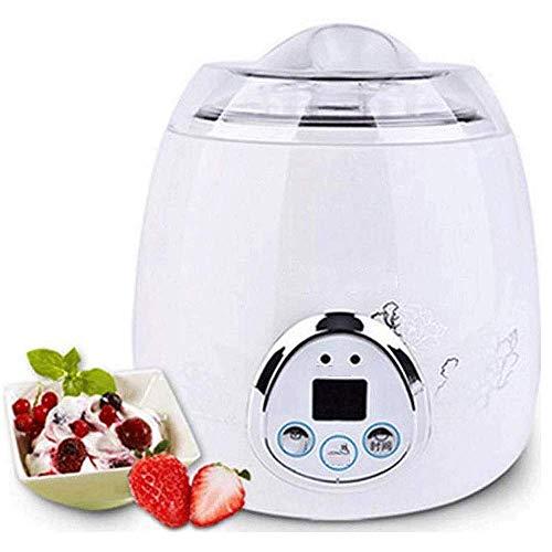 LIANGANAN Acero de la Manera Creativa automática Yogur Máquina Vino de arroz Máquina de Hielo de Crema de Paquete Grueso Inoxidable de línea, Hecho en casa fácil de Helado con zhuang94